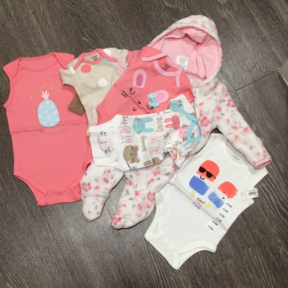 Gerber Other - (6 Items) baby girl clothes